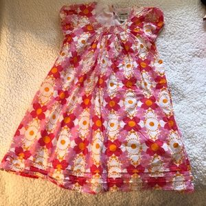 Cherokee Floral Sleeveless Dress size 7/8 M